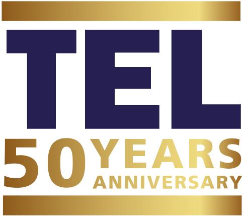 Tel 50 Years Anniversary Logo